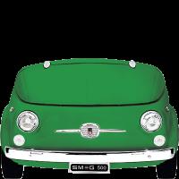 Отдельностоящая холодильная камера, Зеленый Smeg SMEG500V