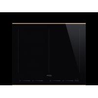 Индукционная варочная панель, 60 см, Чёрный Smeg SIM662WLDR