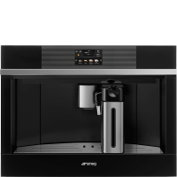 Автоматическая кофемашина, 60 см, Чёрный Smeg CMS4104N