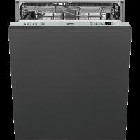 Полностью встраиваемая посудомоечная машина, 60 см, Серебристый Smeg STA6539L3