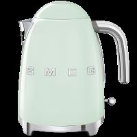 Чайник электрический, объем 1,7 л, Зеленый Smeg KLF03PGEU