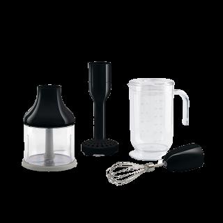 Набор аксессуаров для погружного блендера чёрный Smeg HBAC01BL