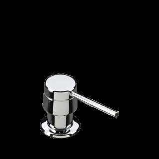 Дозатор для жидкого мыла круглый, Хром Smeg KITDS