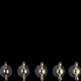 Набор ручек для варочных поверхностей  Smeg 5MP800A