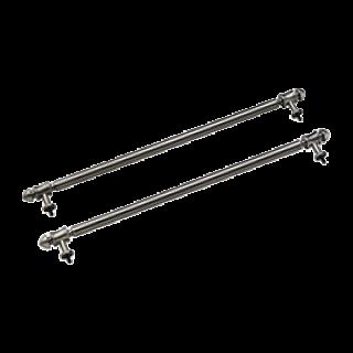 Комплект боковых рейлингов состаренное серебро Smeg KITKCS-2