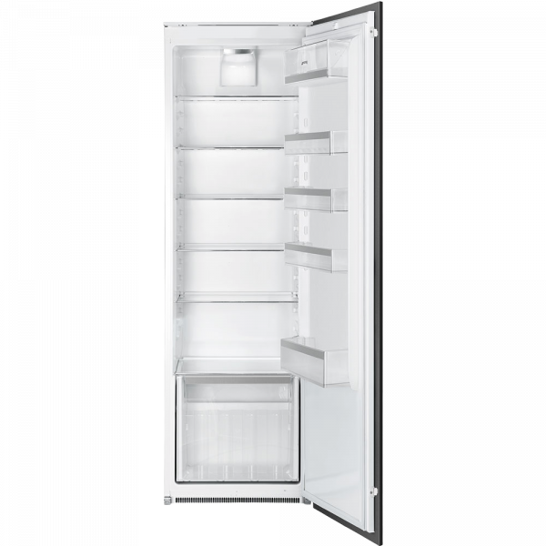 Встраиваемый однодверный холодильник без морозильного отделения, Белый Smeg S7323LFEP