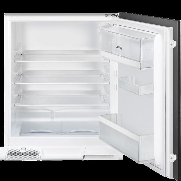 Встраиваемый холодильник, монтаж под столешницу, Белый Smeg U3L080P