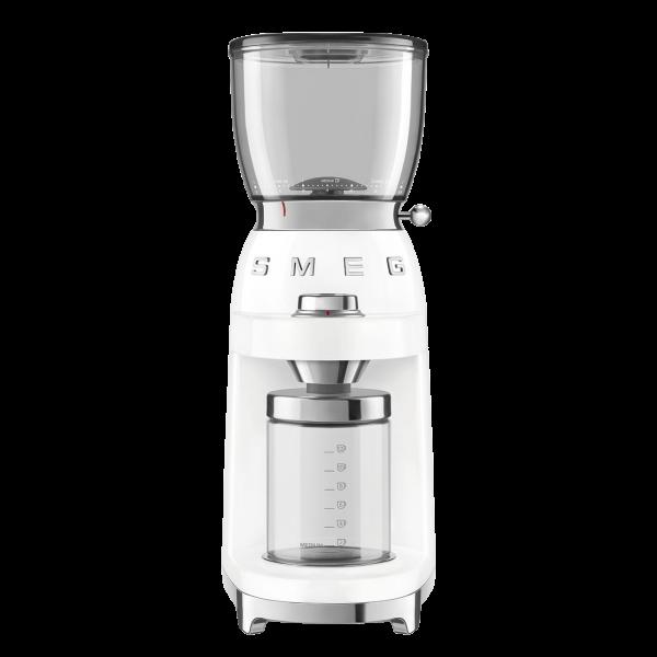 Кофемолка Стиль 50-х, Белый Smeg CGF01WHEU