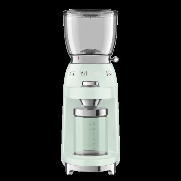 Кофемолка Стиль 50-х, Зеленый Smeg CGF01PGEU