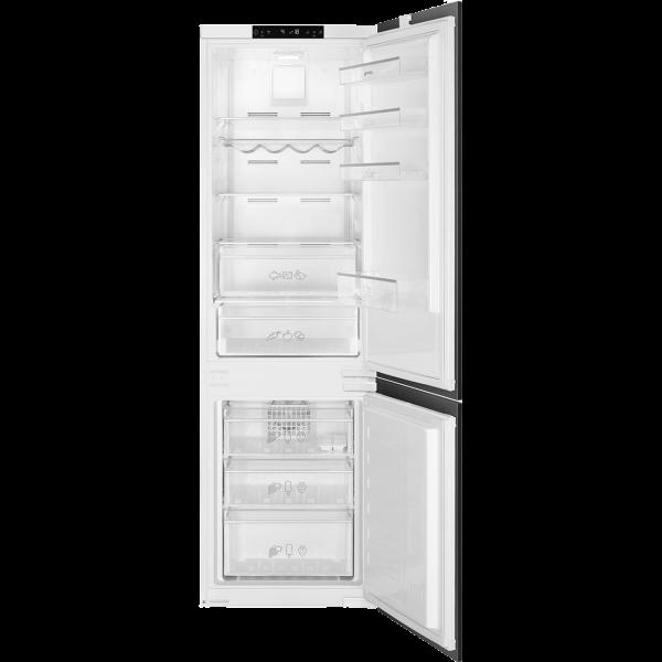 Встраиваемый комбинированный холодильник, No-Frost, Белый Smeg C8175TNE
