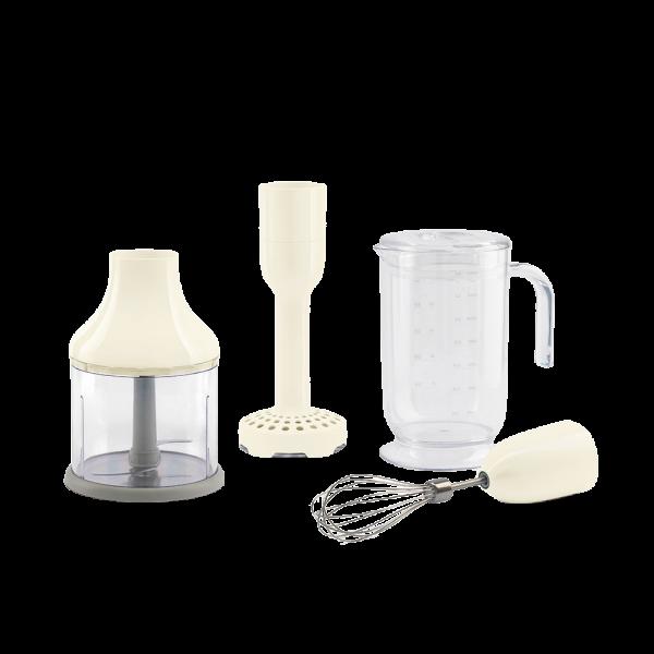 Набор аксессуаров для погружного блендера кремовый Smeg HBAC01CR