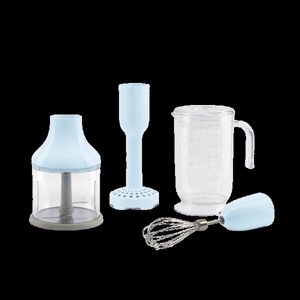 Набор аксессуаров для погружного блендера голубой Smeg HBAC01PB