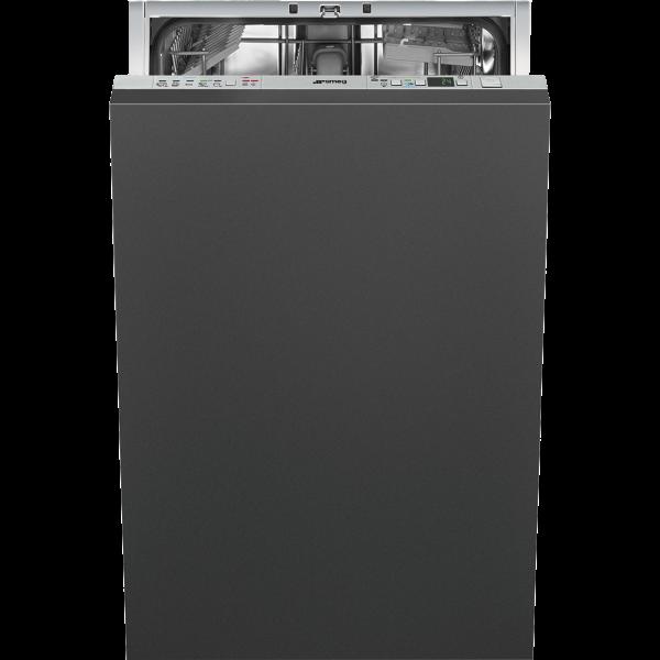 Полностью встраиваемая посудомоечная машина, 45 см, Серебристый Smeg STA4525IN