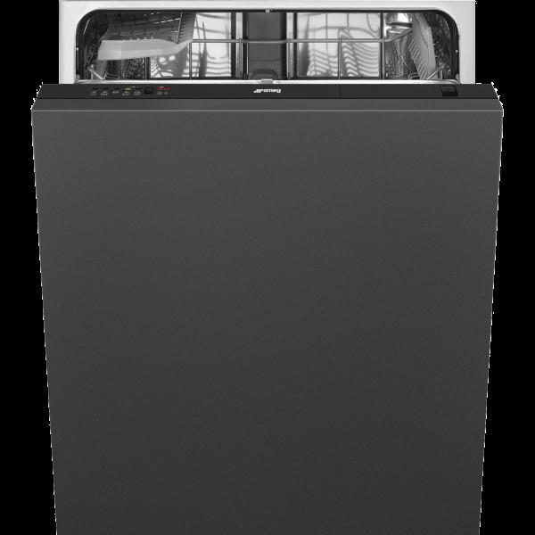 Полностью встраиваемая посудомоечная машина, 60 см, Чёрный Smeg ST65120