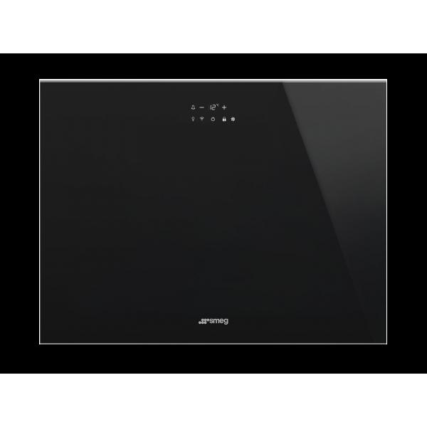 Холодильный шкаф для вина встраиваемый, 45 см, Черный Smeg CVI621LWNX3