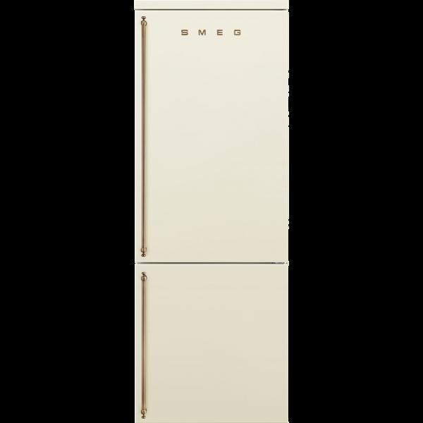 Отдельностоящий холодильник, 70 см, Кремовый Smeg FA8005RPO