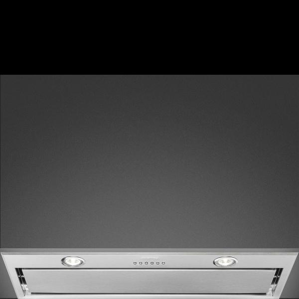 Встраиваемая вытяжка, 77 см, Серебристый Smeg KSEG78PXE