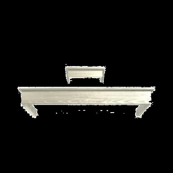 Деревянная рамка Smeg для вытяжки KCL900POE бук окрашенный, кремовый