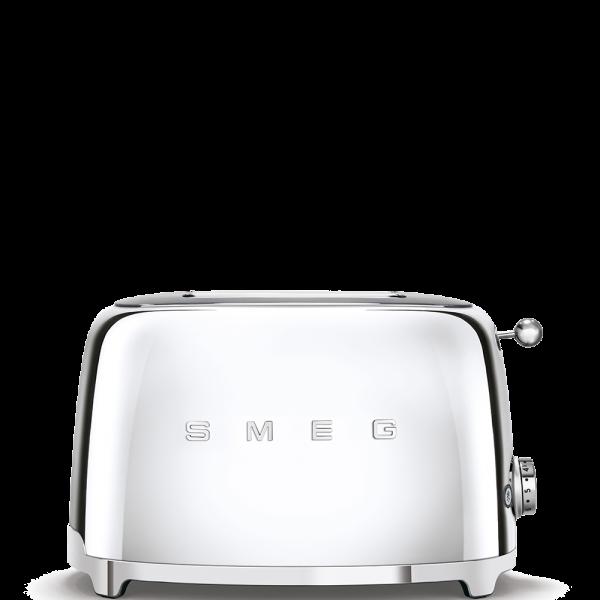 Тостер на 2 ломтика, Хром Smeg TSF01SSEU