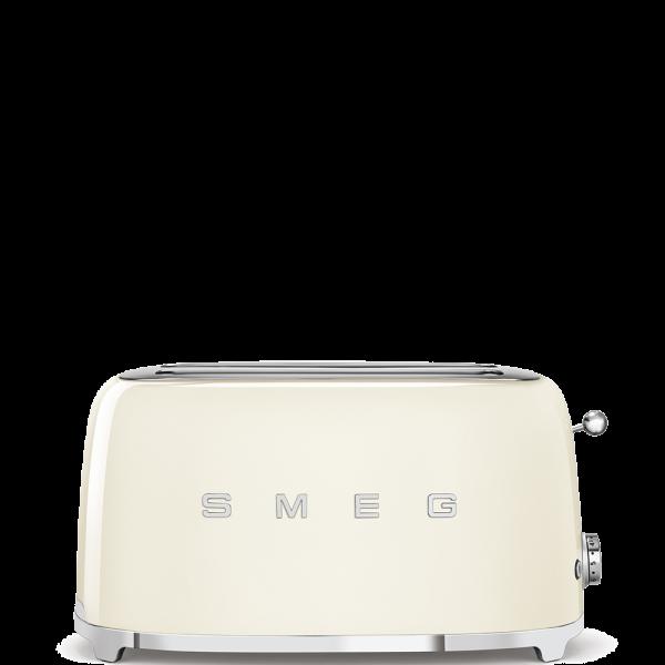 Тостер на 4 ломтика, Кремовый Smeg TSF02CREU