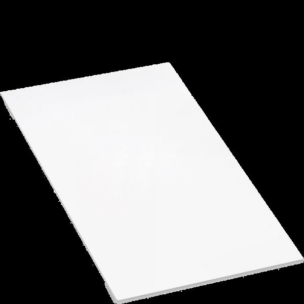 Доска разделочная стеклянная, белое глянцевое стекло Smeg TVB2