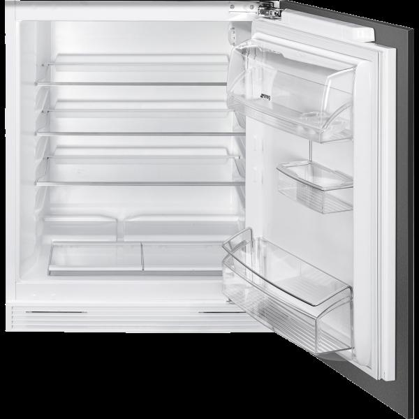 Встраиваемый холодильник под столешницу, 60 см, Белый Smeg U8L080DF