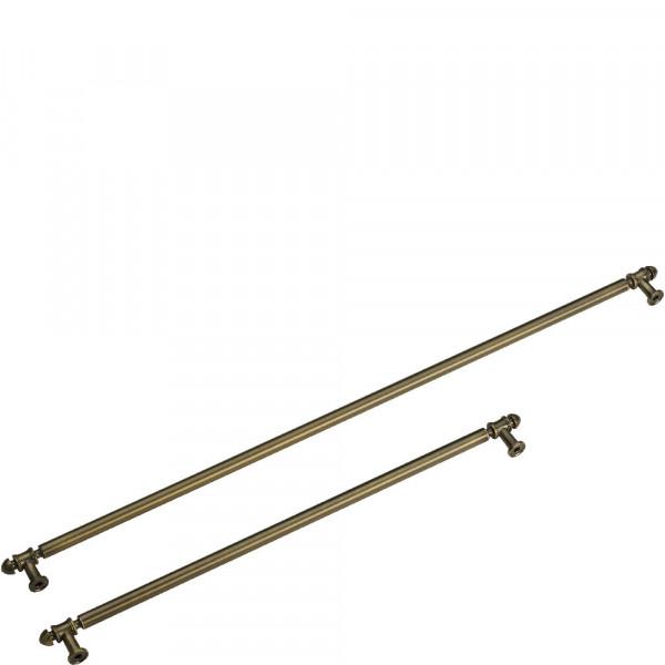 Комплект ручек для холодильника Smeg KMOFQ7-1
