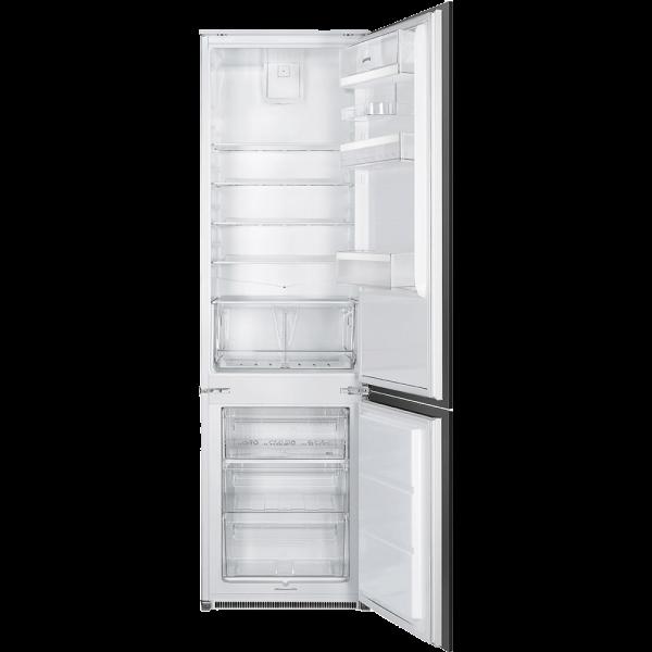 Встраиваемый комбинированный холодильник, Белый Smeg C3192F2P
