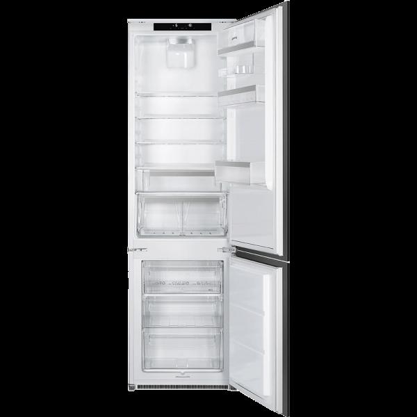 Встраиваемый комбинированный холодильник, Белый Smeg C7194N2P