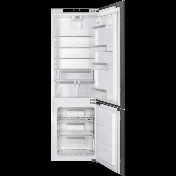 Встраиваемый комбинированный холодильник, Белый Smeg CD7276NLD2P1