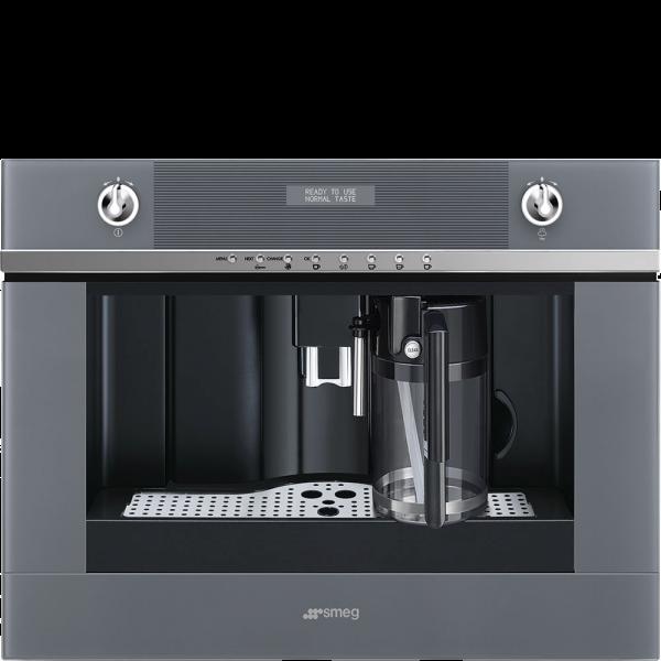 Автоматическая кофемашина, 60 см, Серебристый Smeg CMS4101S