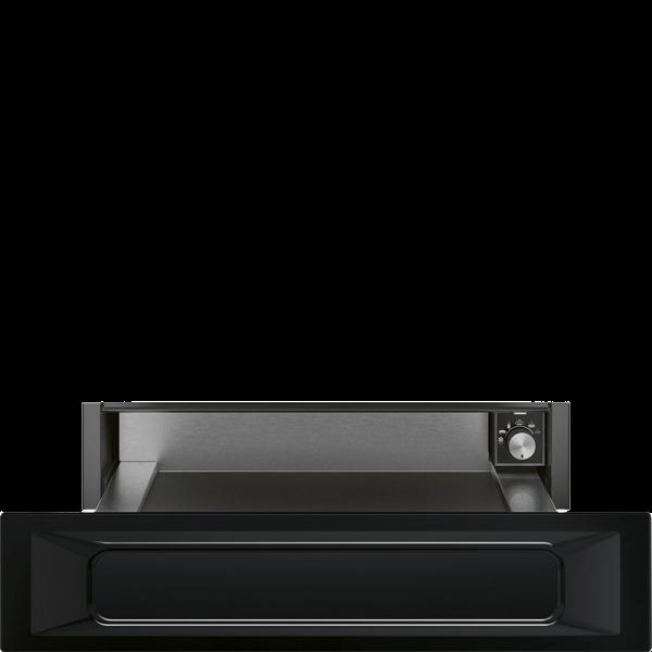 Подогреватель посуды, 60 см, Чёрный Smeg CPR915N