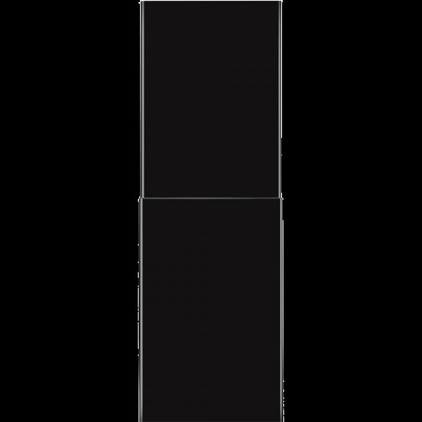 Комплект декоративных коробов для вытяжек чёрный Smeg KITCMNDSBL