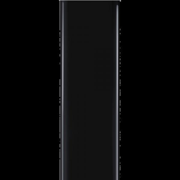 Комплект декоративных коробов для вытяжек чёрный Smeg KITCMNFABBL