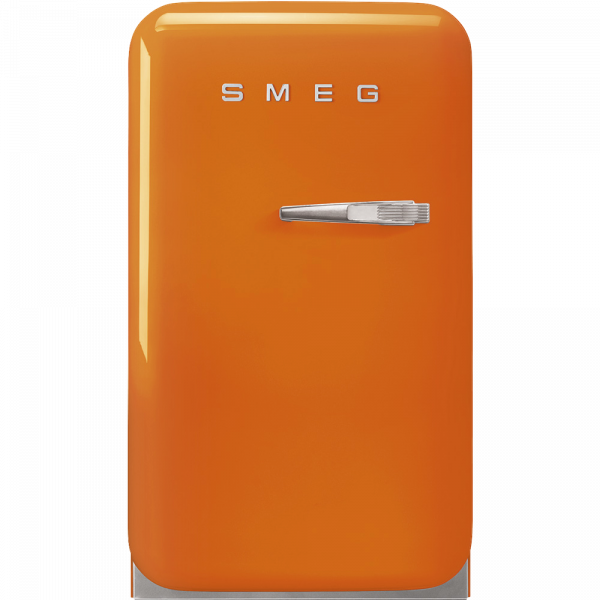 Отдельностоящий минибар, Оранжевый Smeg FAB5LOR5, стиль 50-х гг.