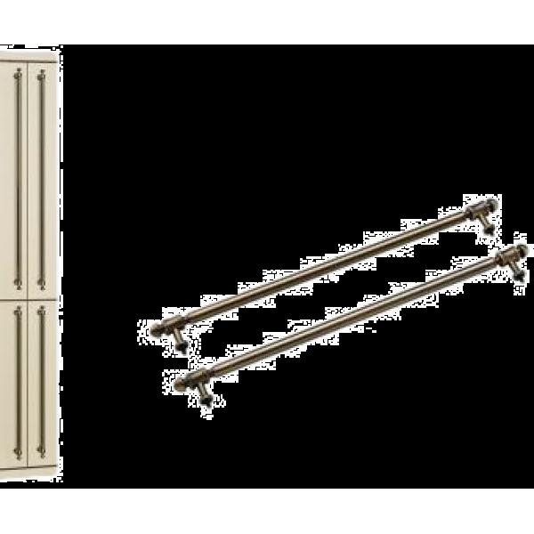 Комплект ручек для холодильника Smeg KMOFQ7