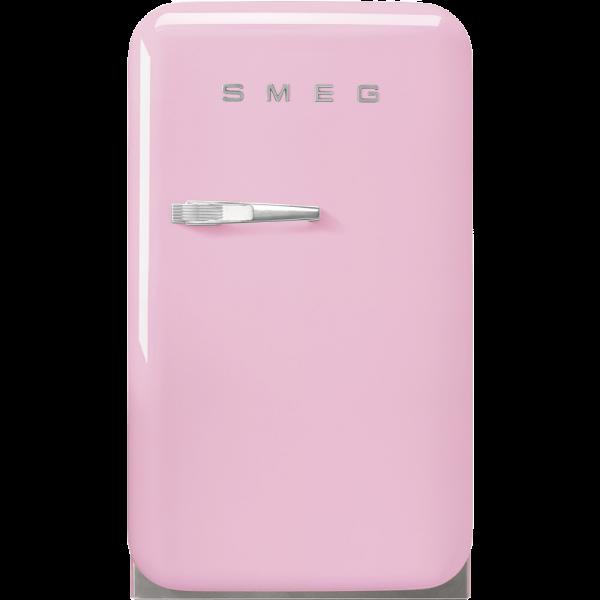 Отдельностоящий минибар, Розовый Smeg FAB5RPK5, стиль 50-х гг.
