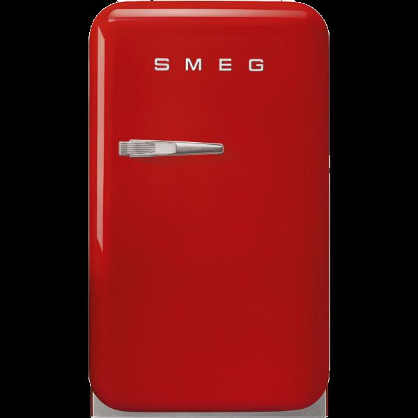 Отдельностоящий минибар, Красный Smeg FAB5RRD5, стиль 50-х гг.