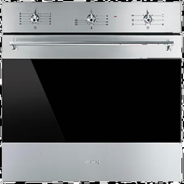 Многофункциональный духовой шкаф, 60 см, Нержавеющая сталь Smeg SF6381X