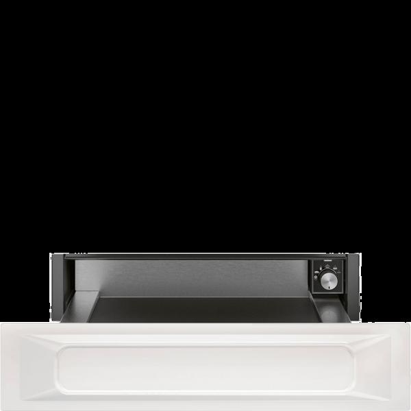 Подогреватель посуды, 60 см, Белый Smeg CPR915B