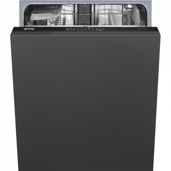 Полностью встраиваемая посудомоечная машина, 60 см, Чёрный Smeg ST211DS