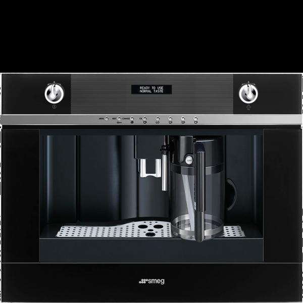 Автоматическая кофемашина, 60 см, Чёрный Smeg CMS4101N