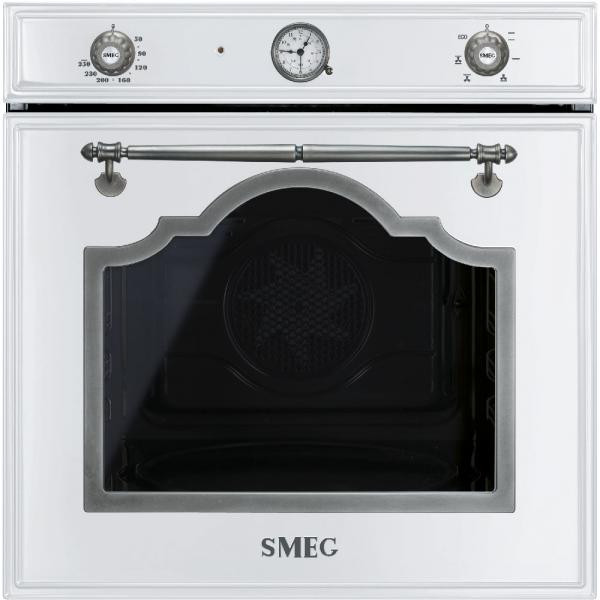 Многофункциональный духовой шкаф, 60 см, Белый Smeg SF700BS