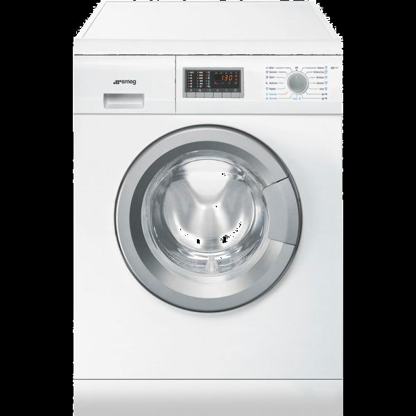 Отдельностоящая стиральная машина с сушкой, 60 см, Белый Smeg LSE147