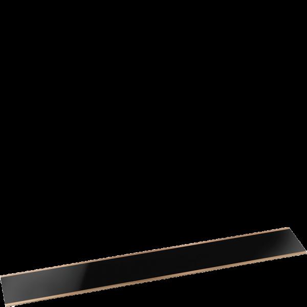 Верхняя планка для вытяжки чёрный Smeg KITKDSNRA