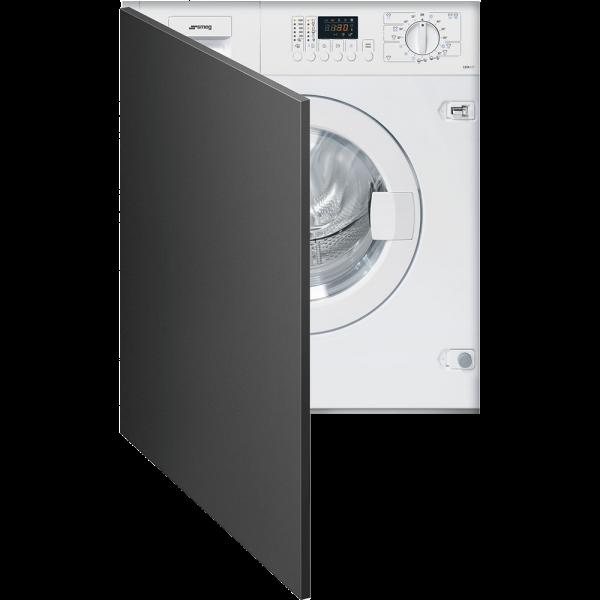 Встраиваемая стиральная машина с сушкой, 60 см, Белый Smeg LSTA127