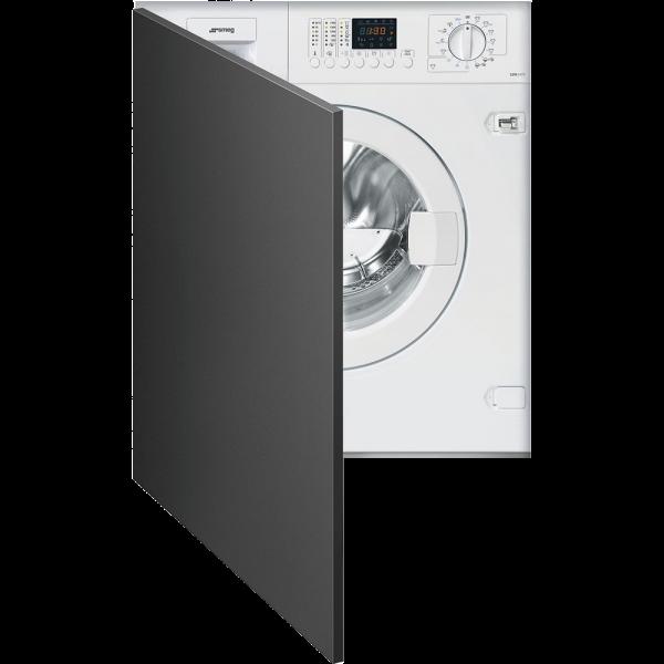 Встраиваемая стиральная машина с сушкой, 60 см, Белый Smeg LSTA147S