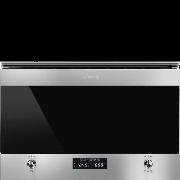 Встраиваемая микроволновая печь, 60 см, Нержавеющая сталь Smeg MP322X1
