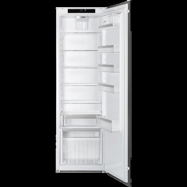 Встраиваемый однодверный холодильник без морозильного отделения, Белый Smeg S7323LFLD2P1
