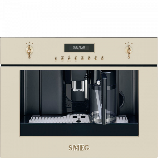 Автоматическая кофемашина, 60 см, Бежевый Smeg CMS8451P